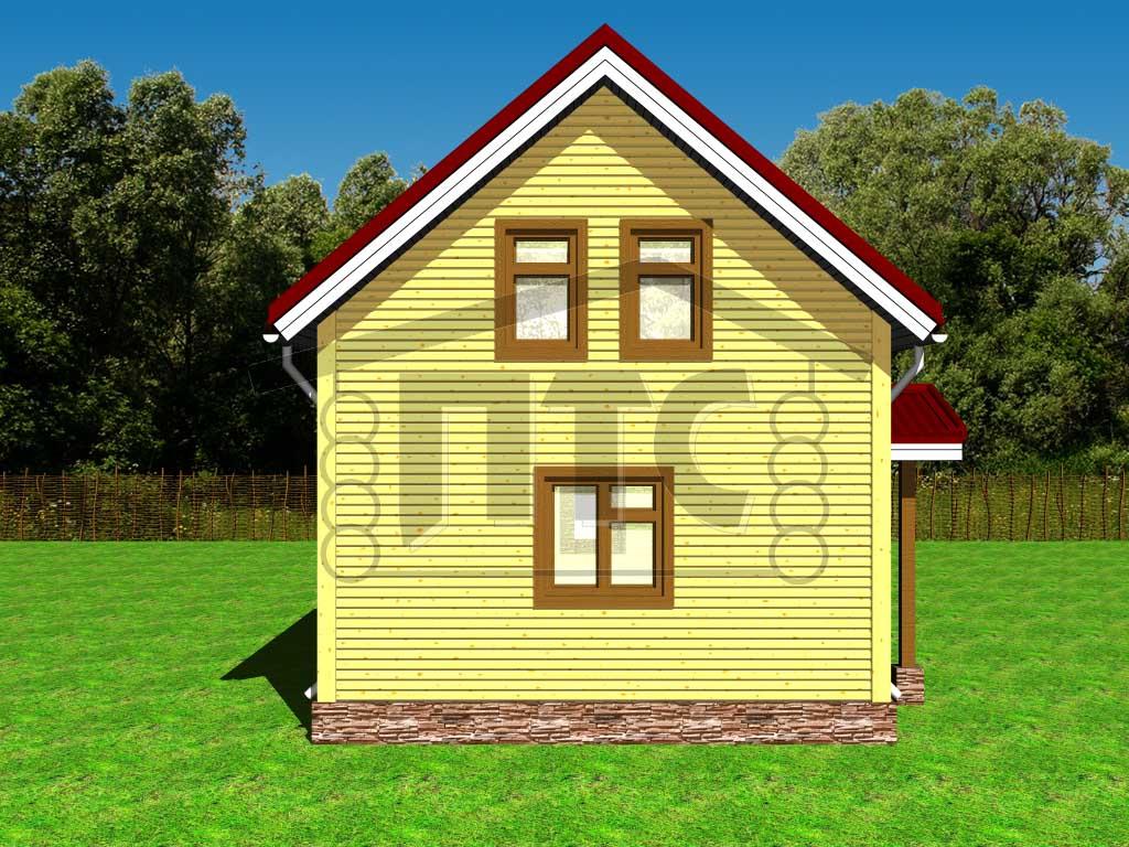 Садовые домики каркасно щитовые